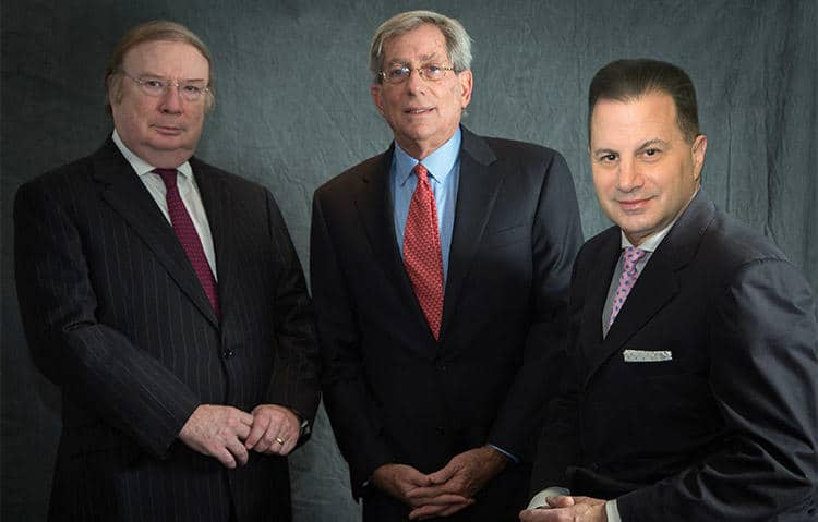 CEO Henry F. Owsley, Chairman Fred Zeidman and ident Peter S. Kaufman