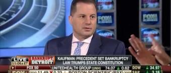 Peter Kaufman discusses Detroit's recent Chapter 9 bankrutpcy filing with Fox Business