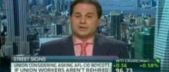 Peter Kaufman speaks with CNBC about Hostess Brands and the Bakers' Union