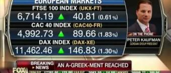 "Peter Kaufman on Fox Business, ""Current Debt Deal Bad for Greece?"""