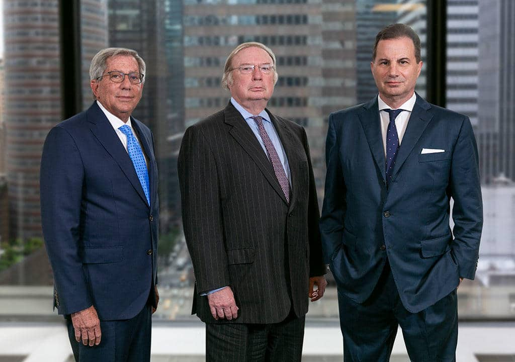 CEO Henry F. Owsley, Chairman Fred Zeidman and President Peter S. Kaufman