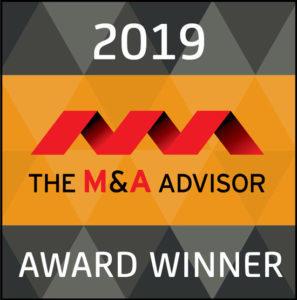 Gordian Group 2019 M&A Advisor Award Winner