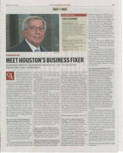 Houston Business Journal Face to Face