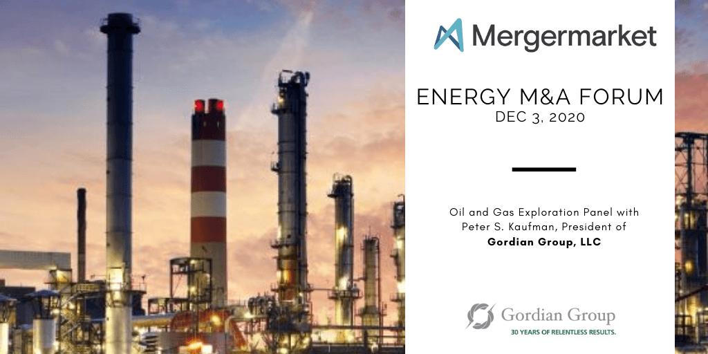 Mergermarket Energy M&A Forum