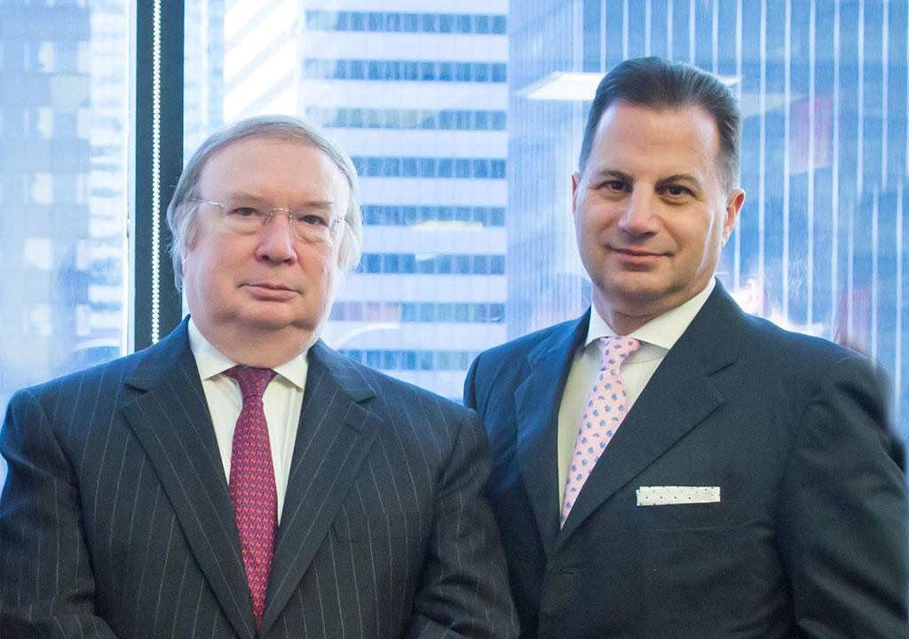 CEO Henry F. Owsley and President Peter S. Kaufman